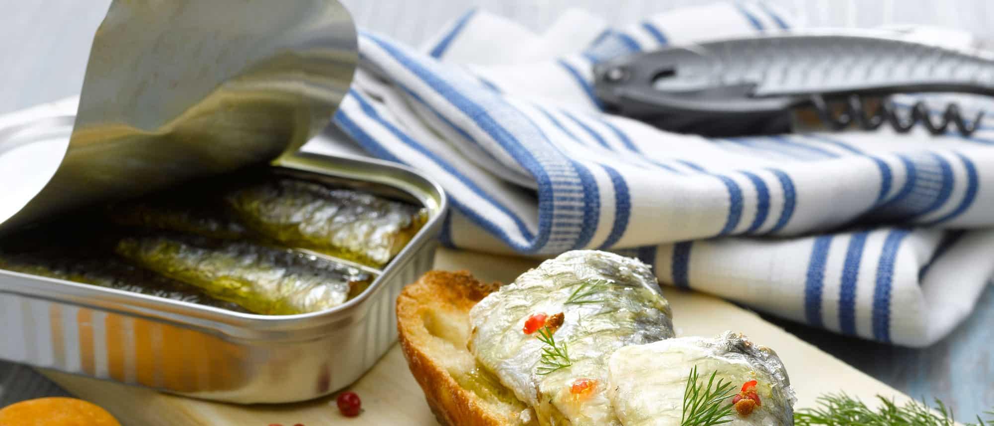 La sardine conserves de poissons - Conserve de sardines maison ...