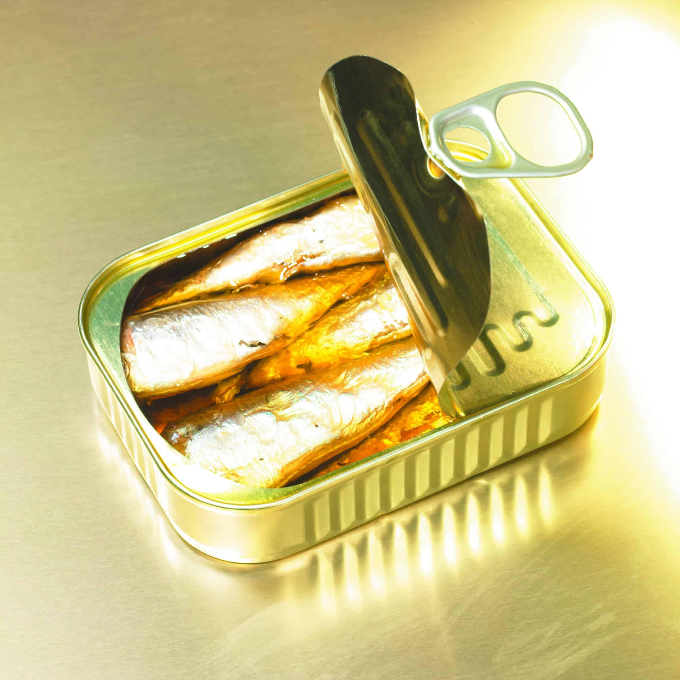 Boîtes de sardines - Or